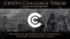 Crypto Challenge Forum will take place in London