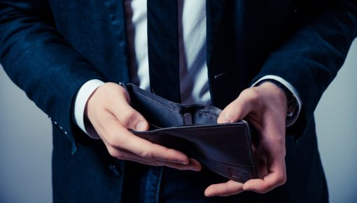 How can I pay off a business debt with no money?