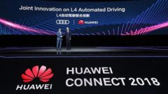 Huawei and Audi will jointly develop intelligent connected cars