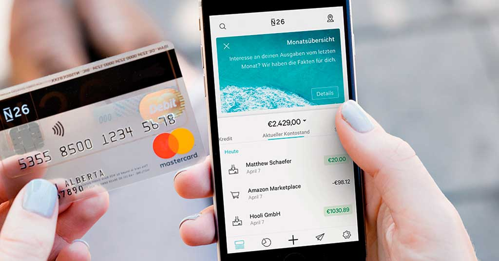 N26 launches digital cards