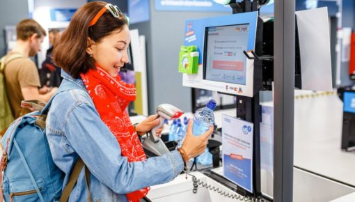 How does self-checkout work: functions & technology