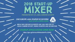 University College London Asian Careers Society 2018 Start-Up Mixer