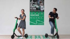 Grab to pilot new electric scooter sharing service