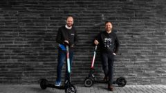 eScooters startup has raised an initial investment of €20 million
