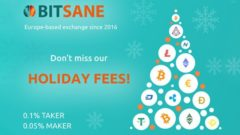 Bitsane to reduce fees for Christmas and New Year