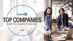 Top companies to work for in 2019 – LinkedIn