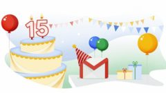 Gmail turns 15 and announces new features