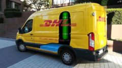 DHL partnered with a supermarket chain