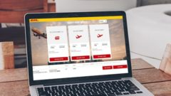 The new app allows instant air and ocean freight bookings