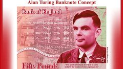 Bank of England showed the new £50 polymer note