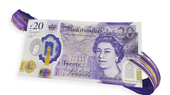 Bank of England's new £20 note unveiled