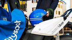 Uber offers e-mopeds in the app for the first time