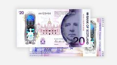 Bank of Scotland presents new polymer banknotes