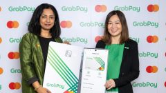 Grab and Mastercard presented numberless card
