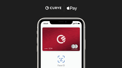 Curve cards can be added to Apple Pay