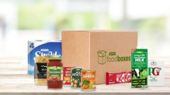UK supermarket launches food boxes for vulnerable people