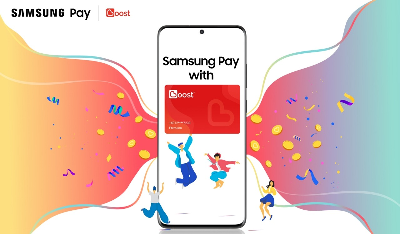 Samsung Pay and Boost