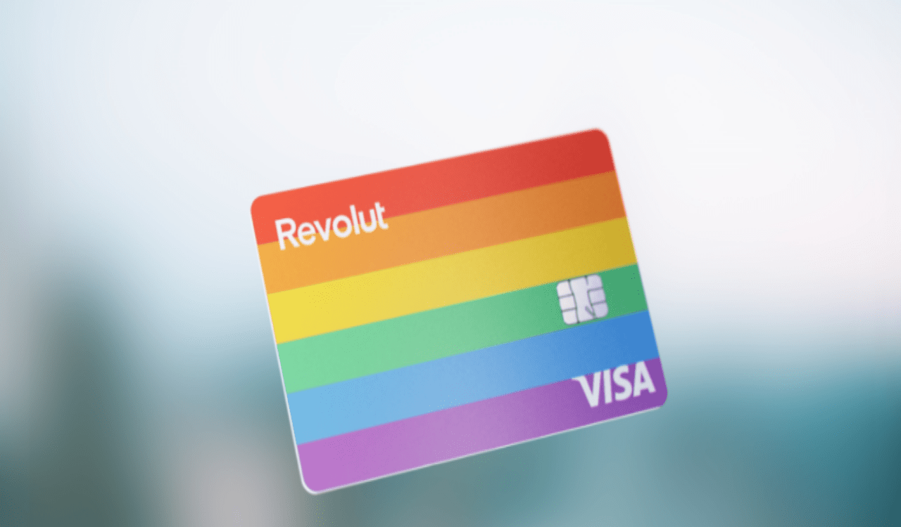 Revolut rainbow card