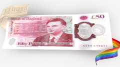 Bank of England unveiled design of new polymer banknote