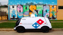 Domino's introduced pizza delivery robot