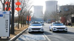 China's Baidu introduced driverless ride-hailing services