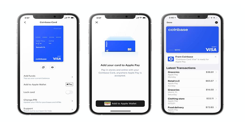 Coinbase Apple Pay
