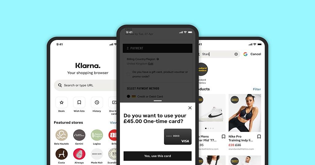 Klarna Shopping app