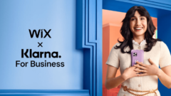 Klarna announced partnership with Wix