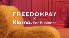 Klarna integrates with FreedomPay